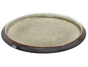 Πιάτο Φρούτου Stoneware Pebble ESPIEL 21×3εκ. GMT111 (Χρώμα: Καφέ, Υλικό: Stoneware) – ESPIEL – GMT111