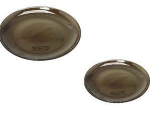 Σετ Πάστας 7τμχ Γυάλινο Lawrence ESPIEL AD1717SM (Υλικό: Γυαλί, Χρώμα: Ανθρακί) – ESPIEL – AD1717SM
