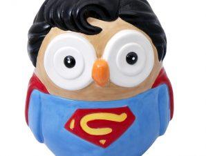 Δοχείο Με Καπάκι Superman ESPIEL 13,5×12,5×16,5εκ. ONG103 – ESPIEL – ONG103
