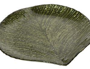 Πιάτο Φαγητού Γυάλινο Damla ESPIEL 20×19εκ. HOR1050K6 (Υλικό: Γυαλί, Χρώμα: Πράσινο ) – ESPIEL – HOR1050K6