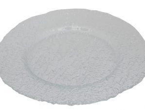 Πιάτο Φαγητού Γυάλινο Στρογγυλό Ramos ESPIEL 33,5εκ. HOR1131K6 (Υλικό: Γυαλί, Χρώμα: Διάφανο ) – ESPIEL – HOR1131K6