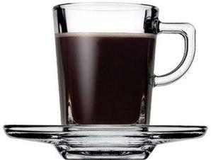 Φλυτζάνι Με Πιατάκι Espresso 75ml Carre ESPIEL SP95754K6 – ESPIEL – SP95754K6
