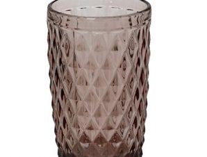 Ποτήρι Νερού Tristar ESPIEL 340ml TIR109K6 (Υλικό: Γυαλί, Χρώμα: Μωβ) – ESPIEL – TIR109K6