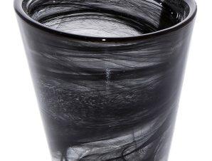 Ποτήρι Γυάλινο ESPIEL Atlas Alabaster 120ml HOR1033K6 (Υλικό: Γυαλί, Χρώμα: Μαύρο) – ESPIEL – HOR1033K6