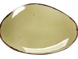 Πιατέλα Πορσελάνης Terra Green ESPIEL 36×24,5×2,5εκ. TLH107K4 (Υλικό: Πορσελάνη) – ESPIEL – TLH107K4