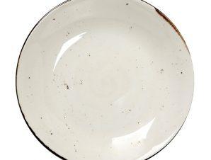 Πιάτο Βαθύ Πορσελάνης Terra Cream ESPIEL 23,5×4εκ. TLK104K6 (Υλικό: Πορσελάνη, Χρώμα: Κρεμ) – ESPIEL – TLK104K6