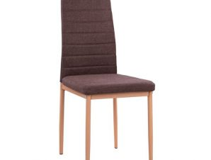 Καρέκλα Μεταλλική-Υφασμάτινη Καφέ 40x48x95εκ. Freebox FB90037.13 (Υλικό: Μεταλλικό, Χρώμα: Καφέ) – Freebox – FB90037.13