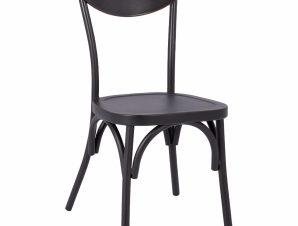 Καρέκλα Αλουμινίου Μαύρη Rasty 44x51x87Υεκ. Freebox FB95554.01 (Υλικό: Αλουμίνιο, Χρώμα: Μαύρο) – Freebox – FB95554.01