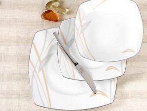 Σερβίτσιο Φαγητού Σετ 20τμχ Πορσελάνης Glory Platin CRYSPO TRIO 50.285.40 (Υλικό: Πορσελάνη) – CRYSPO TRIO – 50.285.40
