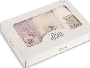 Πετσέτες Κουζίνας (Σετ 3 Τμχ) 50X70 Dimcol Mix Πολύχρωμο