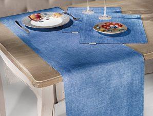 Σουπλα 45X33 Saint Clair 3007 Blue Jean