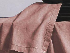 Πετσέτες Φαγητού 50×50 Nef Nef Cotton-Linen Eng. Rose