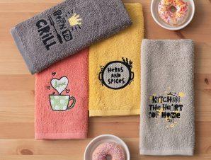 Πετσέτες Κουζίνας 40X60 (Σετ 4 Τμχ) Palamaiki Kitchen Collection Kt150 (40×60)