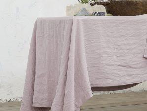 Σουπλα (Ζεύγος) 30×50 Nima Linho Dusty Pink