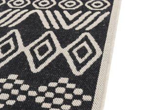Χαλί Διαδρόμου All Season Royal Carpet Flox 67×140 – 539 Black