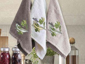 Πετσέτες Κουζίνας (Σετ 3 Τμχ) 30×50 Sb Home Coffe Time No13