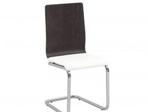 Καρέκλα Lord Zebrano-Ecru ΕΜ917,11 40X53X90 cm