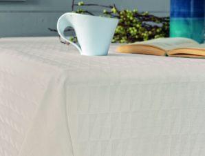 Πετσέτες Φαγητού (Σετ) 45×45 Optic Palamaiki Festozi Ivory