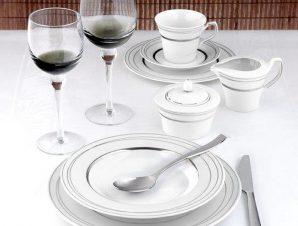 Σερβίτσιο Φαγητού Σετ 72τμχ Πορσελάνης Platinum CRYSPO TRIO 24.261.30 (Υλικό: Πορσελάνη) – CRYSPO TRIO – 24.261.30