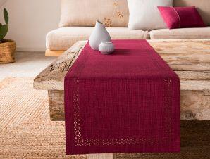 Runner Gofis Home Chrome 40×150 Red Leather/Σομόν 930/02