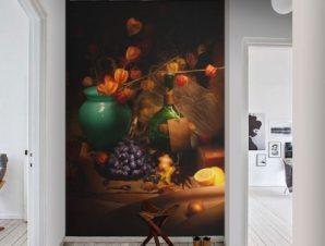 Νεκρή φύση με σταφύλι Φαγητό Ταπετσαρίες Τοίχου 119 x 75 cm