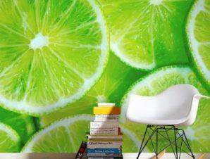 Lime Φαγητό Ταπετσαρίες Τοίχου 119 x 80 cm