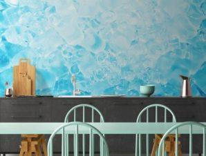 Παγάκια Φαγητό Ταπετσαρίες Τοίχου 82 x 123 cm